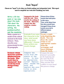 book report tic tac toe Book report tic-tac-toe for the remainder of the year, when a book report is assigned, you are to choose from the following choices the ways you choose to present information about your books must be different each time.