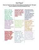 Book Report Tic-Tac-Toe (Multiple Intelligences/Authenic A