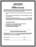 Book Report:  Tissue Box