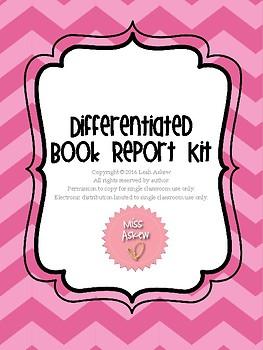 Book Report Unit - Differentiated