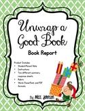 Book Report - Unwrap a Good Book