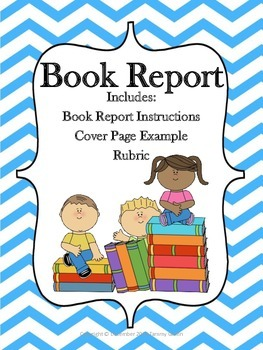 Book report cover pages