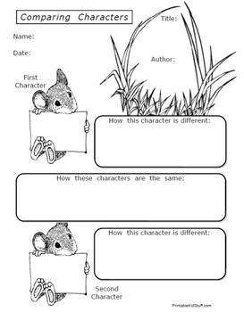 Book Report Worksheets & Activities