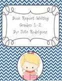 Book Report Writing Grades 2-5