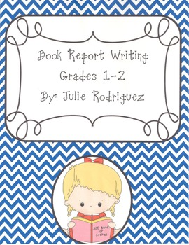 Book Report Writing Grades 2-5