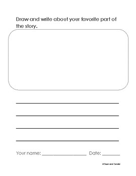 Book Report for Early Elementary
