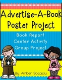 Book Report for Literature Book with CCSS - Advertise-A-Book-Poster