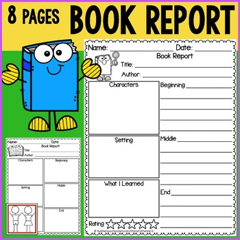 Book Report for First Grade