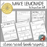 Book Report for Make Lemonade by Virginia Euwer Wolff