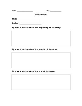 Book Report for Non-Writers