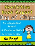 "Book Report ""Bag of Chips"" for Nonfiction Book"