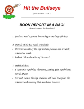 Book Report in a Bag
