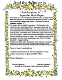 Book Report/Project Templates