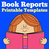 Book Report Templates Grade 1 2 3