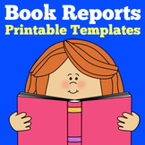 Book Report | 1st 2nd 3rd 4th Grade | Templates