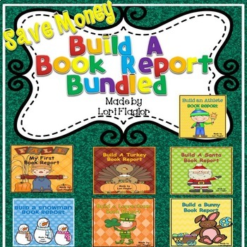 Book Reports- Build a Book Reports Bundled