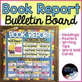 Book Reports Writing Bulletin Board, Letters, Writing Posters and Word Wall