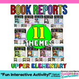 Book Report Templates: BUNDLE: Book Review Templates: Report Projects