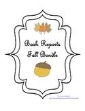 Book Reports - Fall Bundle