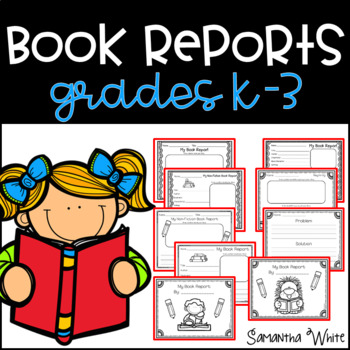 Book Reports {K-3}