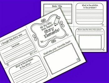 Book Reports - My itty bitty Book Report Pack
