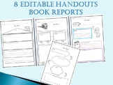 Book Reports - Worksheet Templates for Beginners Readers