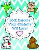 Book Reports Your Students Will Love!