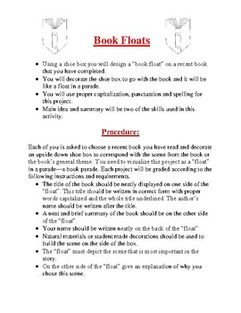 Book Reports and Book Projects Bundle #2