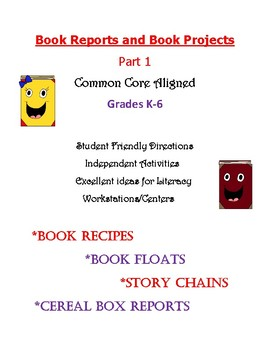 Book Reports and Book Projects Part 1