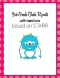 Book Reports based on 3rd Grade STARR
