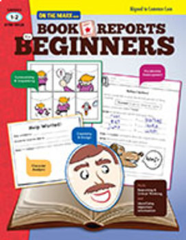 Book Reports for Beginners Grades 1-2 - Aligned to Common Core (Enhanced eBook)