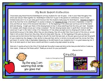 Book Reports for the Early Learner