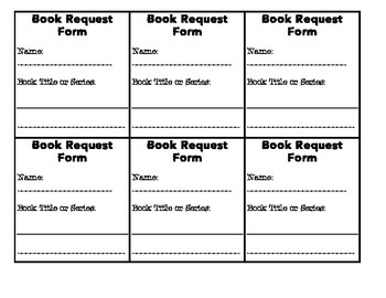 Book Request and Book Hold