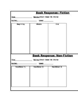 Book Response