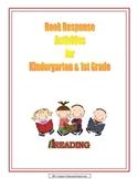 Book Response Activities for Kindergarten and First Grade
