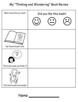 Book Response - Comprehension