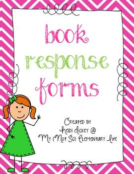 Book Response Forms for Any Book