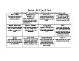 Book Response Grid