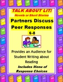 FREE Talk About Lit Partners Discuss Peer Reading Responses to Fiction