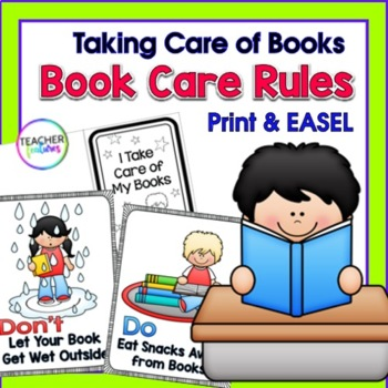 I Can Take Care of Books: Library Skills  & Activities
