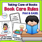 Book Care Rules and Library Skills TAKING CARE OF BOOKS Classroom Rules Posters