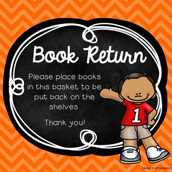 Book Return Freebie