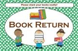 Book Return Sign