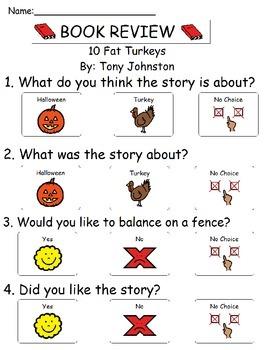Book Review - 10 Fat Turkeys By: Tony Johnston