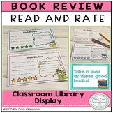 Book Review for Fiction 2nd & 3rd Grade