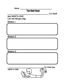 Book Reviews Opinion Writing
