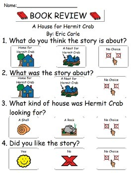 Book Review - A House for Hermit Crab