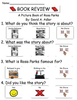 Book Review - A Picture Book of Rosa Parks