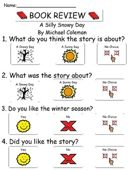 Book Review - A Silly Snowy Day