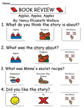 Book Review - Apples, Apples, Apples